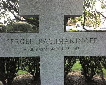 Rachmaninoffgrave